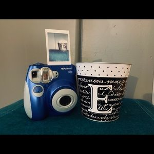 Polaroid 300 in a blue color! Works very well